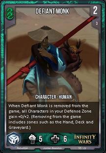 Defiant Monk