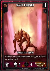 Waste Chucker