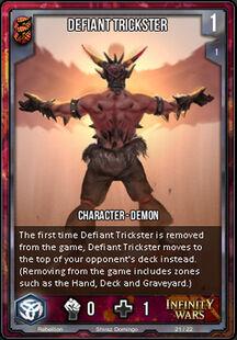 Defiant Trickster