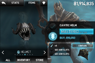 Cavitic Helm
