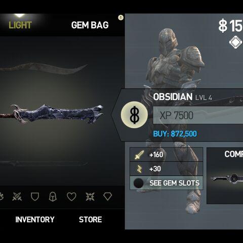 Obsidian Stats