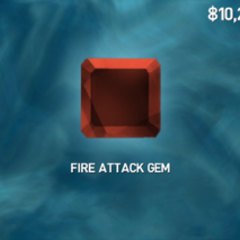 +400 Fire gem drop