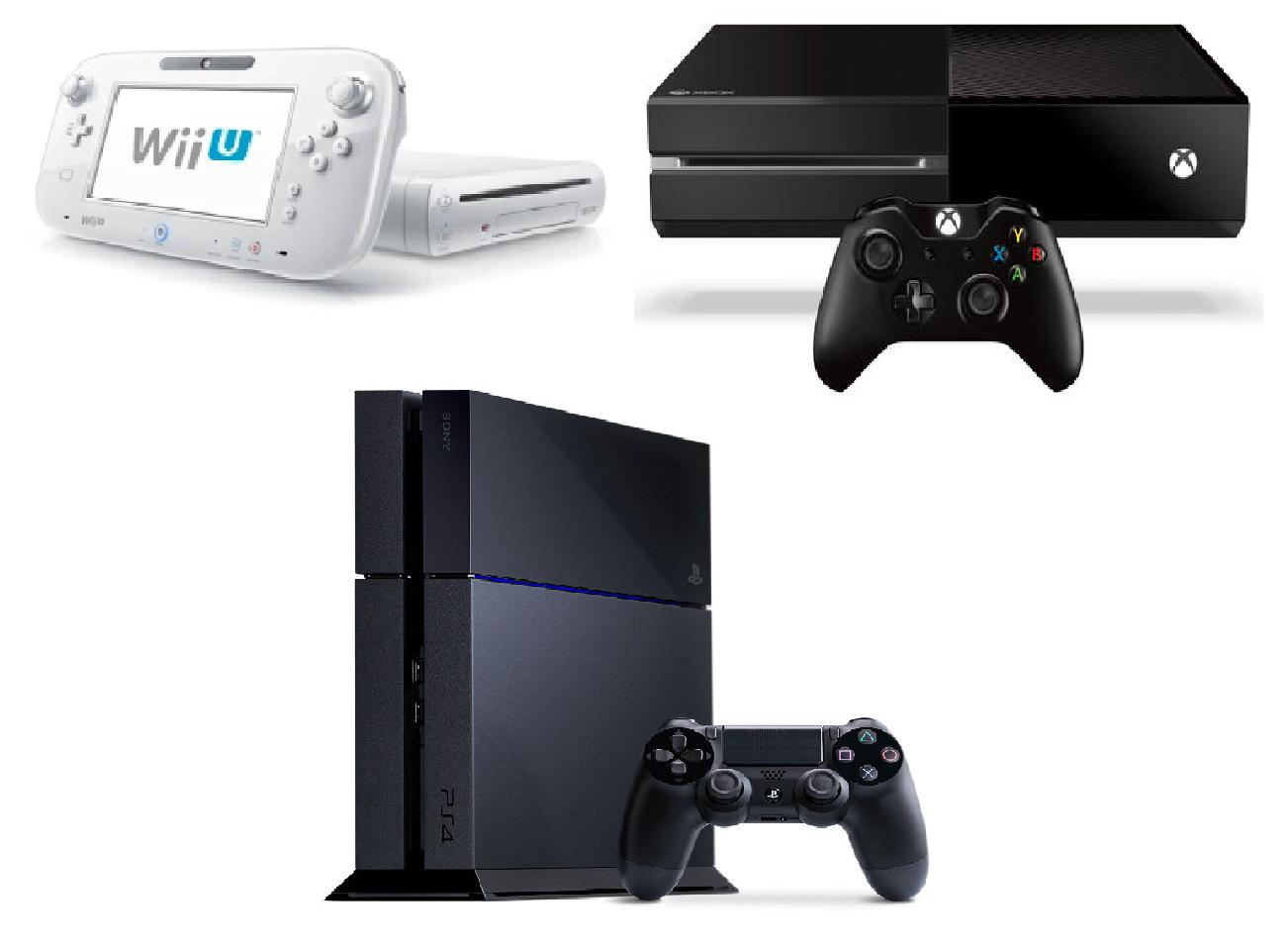 Xbox Vs Ps4 Size FilePS4 vs XBOX ONE vs Wii U