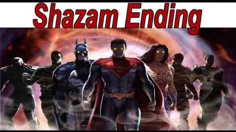 Injustice Gods Among Us - Shazam Ending 【HD】