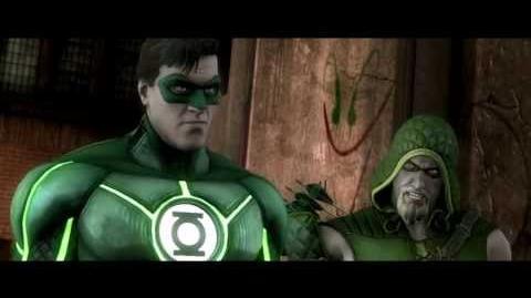 Injustice Gods Among Us - Green Lantern Trailer