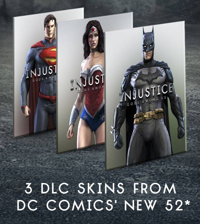Image - New 52 Costumes.jpg | Injustice:Gods Among Us Wiki ...