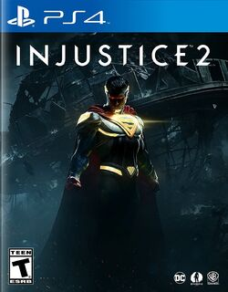 Injustice 2 PS4 cover