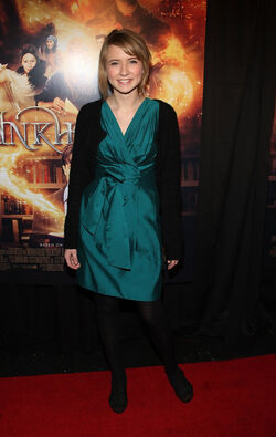 Eliza Bennett Inkheart New York Premiere