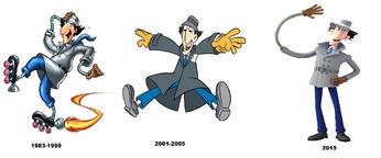 Inspector Gadget Evaloution