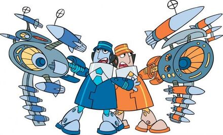 Gadget and the Gadgetinis Inspector Gadget cartoon fan art UPi8Vy5QFM