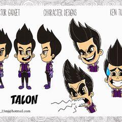 Talon's 2D designs by Ken Turner