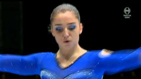 Aliya Mustafina (RUS) Beam Final BB EF Worlds 2013 (GOLD)