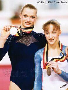 Gallery Svetlana Khorkina Gymnastics Wiki Fandom
