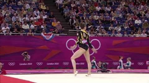 Marta Pihan Kulesza (POL) - 2012 Olympics TQ FX