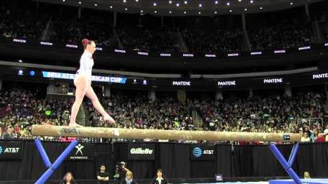 Amy Tinkler (GBR) - Balance Beam - 2016 AT&T American Cup