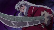 Inuyasha and Dragon Scale Tessaiga