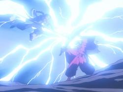 Hiten battles Inuyasha