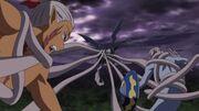 Moryomaru attacks inkas