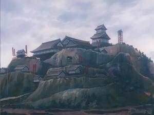 Takeda's castle