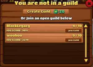 OpenGuildList