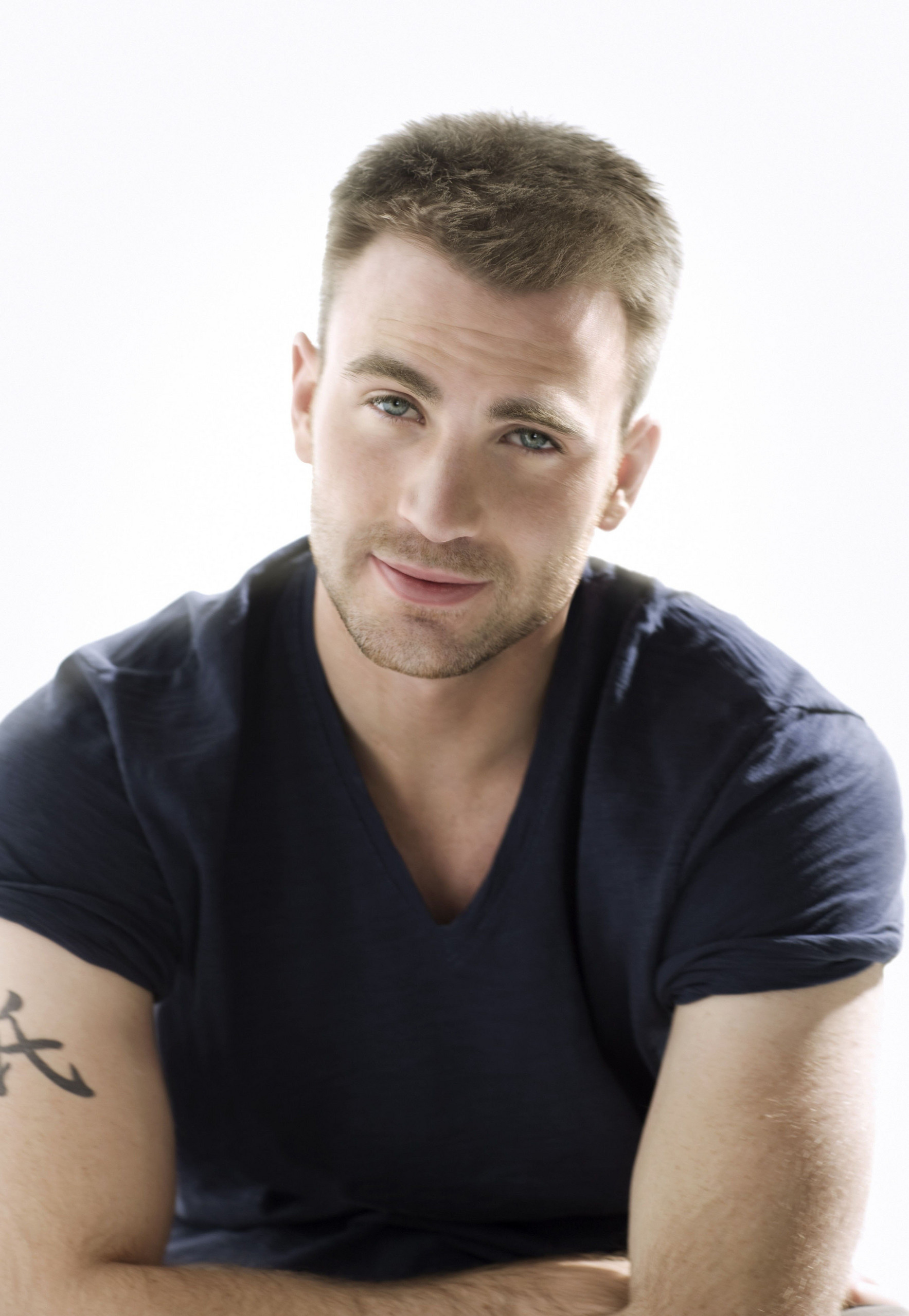chris evans photoshoot