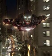 Anthony Stark (Earth-199999) flying (cut)