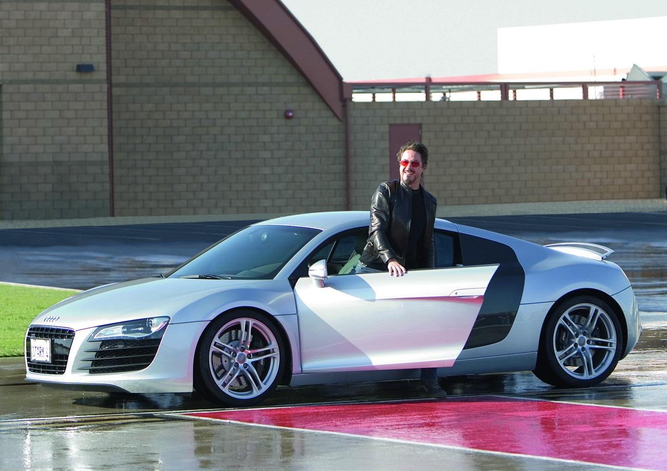 Audi R8 2008 Iron Man Wiki Fandom Powered By Wikia