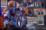 Hot Toys - Iron Man 3 - Disco Mark XXVII Collectible Figure PR13