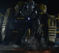 Iron Man Armor MK XXV (Earth-199999) from Iron Man 3 (film) 001