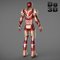 Large iron man 3 suits - mark 42 tony stark mark 39 gemini 3d model 3ds fbx obj max 4429de13-32ab-4498-80e9-633759fa5df4