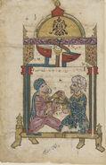 Mameluk Dynasty, Folio From a Copy of Al-Jaziri's Treatise Automata (1206 AD), early 14th century copy
