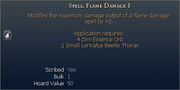 Spell Flame Damage I