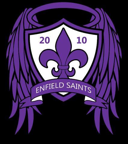 File:Enfield Saints FC crest 2016–present.png
