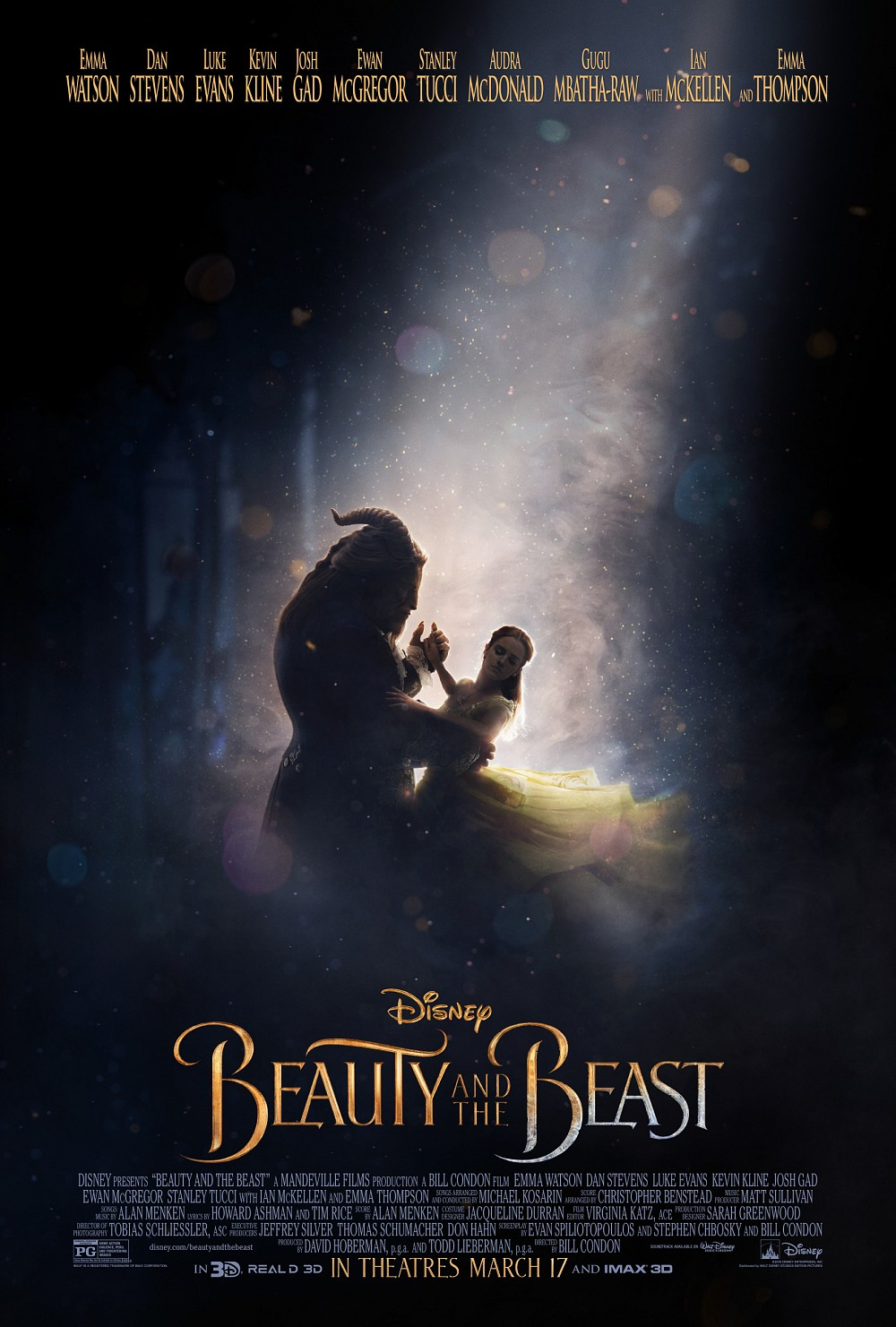 Image result for beauty and the beast 2017 poster