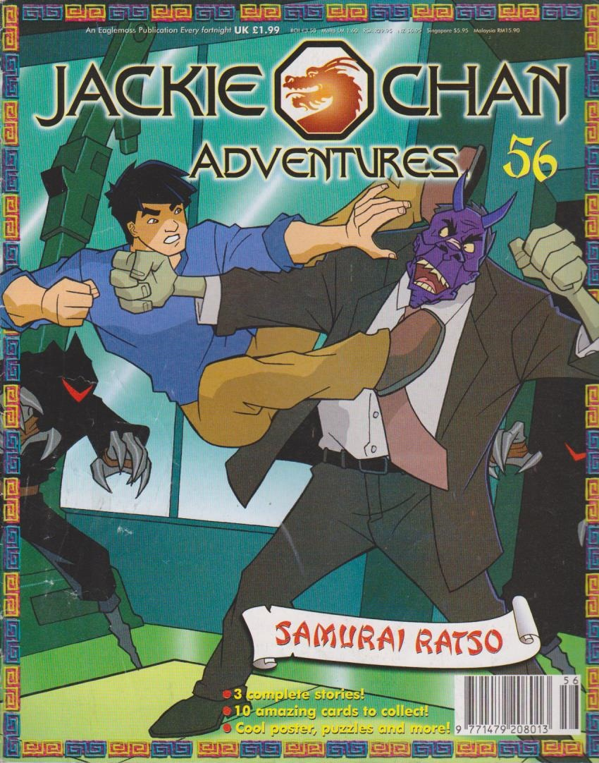 Jackie Chan Adventures Magazine 56  Jackie Chan Adventures Wiki  FANDOM powered by Wikia