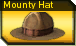 Mounty hat r icon