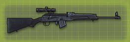 Saiga rifle r pic