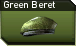 Green beret j icon