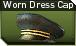Worn dress cap j icon