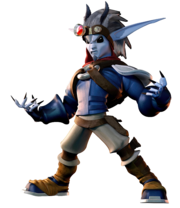 Dark Jak from Jak II render