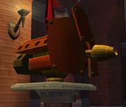 Sentry gun in Palace