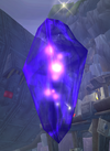 Dark eco crystal from Daxter