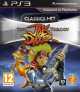 Jak and Daxter Collection front cover (PS3) (EU)