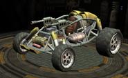 Sand Shark race car screen