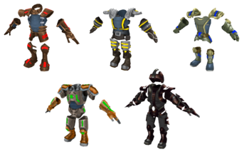 The Lost Frontier armor render