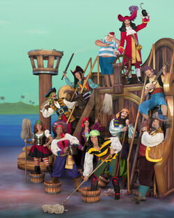 Hook&crew -Disney Junior Live Pirate & Princess Adventure