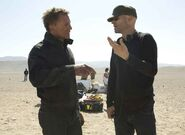 Quantum of Solace - Marc Forster and Daniel Craig