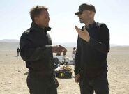 Quantum of Solace - Marc Forster and Daniel Craig
