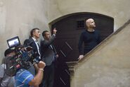 Quantum of Solace - Marc Forster on set 3