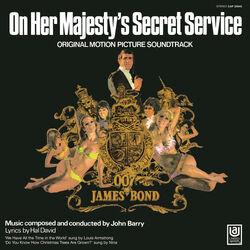 OHMSS soundtrack LP